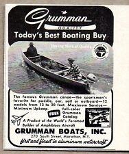 1960 Print Ad Grumman Canoes Boats Marathon,NY
