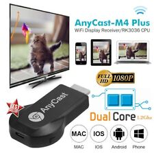 CHROMECAST ANYCAST TV MIRACAST HDMI DONGLE MEDIA VIDEO STREAMER AIRPLAY WIFI IOS