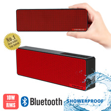 TECEVO Slim Portable Bluetooth Wireless Speaker Waterproof For iPhone Samsung LG