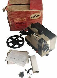 EUMIG S912 GL Projecteur super 8/8mm avec boîte et notice son haute qualité