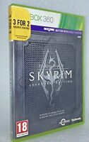 The Elder Scrolls V Skyrim Legendary Edition Xbox 360 With Map and Manual.