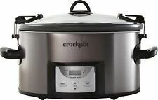 Crock-Pot - Cook & Carry Programmable 7-Quart Slow Cooker with Easy Clean - B.