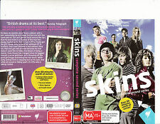 Skins-2007-TV Series UK-[Complete Second Season-3 Disc Set]-DVD