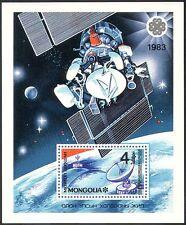 Mongolia 1983 spazio/telecomunicazioni/Radio/Satellite HUNGARIAN M/S (n12103)