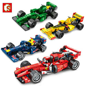 Sembo Blocks Kids Building Toys Boys Puzzle F1 Formula racing Car Model (no box)