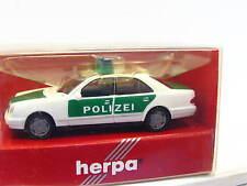 Herpa 042864 MB E 320 Polizei OVP (N5976)