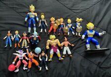 Lot of 16 Dragon Ball Z GT Super Irwin Toy Jakks Action Figure Frieza 17 18 RARE
