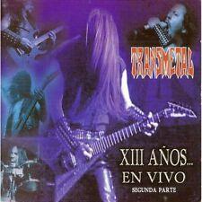 Transmetal XIII Anos En Vivo Segunda Parte CD New sealed Nuevo