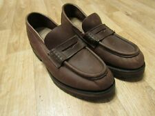 Filson Leather Moccasin shoes brown 9 D