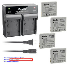 Kastar Battery Rapid Charger for Canon NB-4L NB4LH & Canon PowerShot ELPH 300 HS