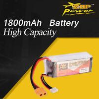 ZOP Power 11.1V 1800mAh 65C 3S Lipo Battery XT60 Plug For RC Racing Drone Car
