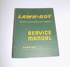 Vintage Lawn Boy Service Manual 1958 MODELS BULLETINS PARTS LIST