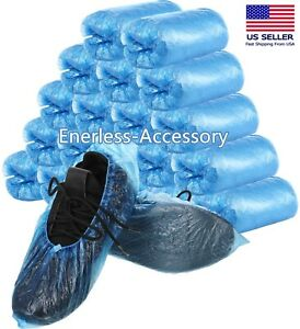 Waterproof Boot Covers Disposable Shoe Cover Elastic Protect Overshoes One Size