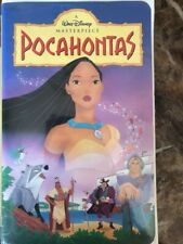 Lot of 2 Pocahontas VHS Pocahontas ll Journey to the New World