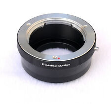 Minolta MD MC ROKKOR lens Micro 4/3 Adapter Panasonic GF1 GF2 GF3 GH1 GH2 GH3 G3