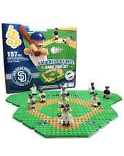 SAN DIEGO PADRES GAME TIME FIELD SET 10 FIGURES 157 PCS TRAINER CART 135 PCS OYO