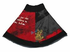 Knee-Length A-Line 100% Cotton Skirts for Women