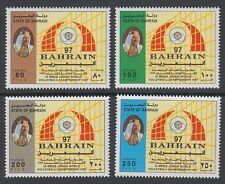 Bahrain 1997 ** Mi.642/45 Volleyball Championship Sport Sports