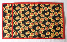 Sunflowers All Over Fabric -Set of 2 Placemats-Handmade Pizazz Creations