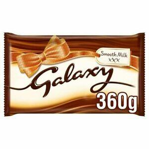Galaxy Smooth Milk Chocolate Large Gifting Block 360g Same Day Dispatch
