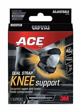 ACE Adjustable Dual Strap Knee Support (8 Pack)