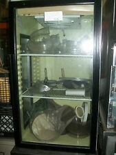 COOLER/MERCAHANDISEER, C/TOP MODEL, FRONT AND SIDE GLASS, 36', 900 ITEMS ON BAY