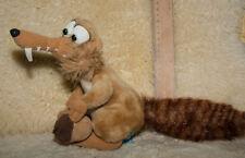 SCRAT☺ Schmusetier ☺ Kuscheltier ☺ weich ☺ von ice age ☺Säbelzahl Eichhörnchen ☺