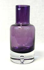 Aubergine Krosno Art Glass Vase - Amethyst Purple