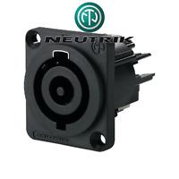 Fiche POWERCON Embase Secteur 250 Volt 32 Ampere ENTREE SECTEUR NEUTRIK NAC3MPHC