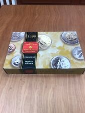 Canada 1999 Specimen Set Royal Canadian Mint.  7 Coin Set