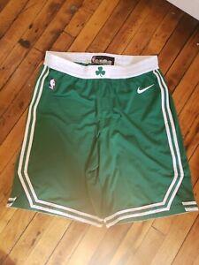Al Horford Boston Celtics Nike Green NBA Authentic Game Worn Shorts 44+2