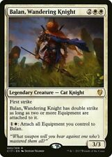 Balan, Wandering Knight NM Commander MTG Magic The Gathering White English Card