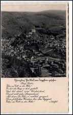 Schwarzburg Thüringen AK ~1930/40 Gesamtanaishct vom Trippstein ungelaufen