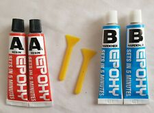 Epoxy Resin Glue Adhesive Kit - 2 Pack Repair Metal Ceramic Rubber Glass Plastic