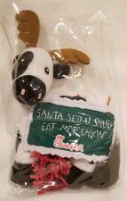 "CHICK-FIL-A ""Santa Sed U Shud Eat Mor CHIKIN"" CHRISTMAS REINDEER COW HOLIDAY"