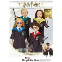 """Simplicity Sewing Pattern 8942 18"""" Harry Potter Doll Clothes"""