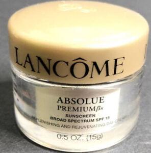 New Lancome Absolue Premium Spf Luxury Cream Travel Size!