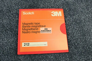 Scotch 212 Tape auf Kunsstoff Spule 26,5 cm  Reel tape Recorder - Top