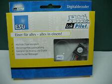 ESU 64632 LokPilot Digitalset 1, V4.0  MM/DCC/SX/M4, Feldmagnet, Entstördrossel