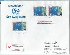 60041 -  AFGHANISTAN - POSTAL HISTORY - INITED NATIONS: TURKISH TROOPS  2002