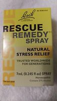 Bach Flower Remedies Rescue Remedy Spray - NATURAL STRESS RELIEF 7mL/0.245 fl oz