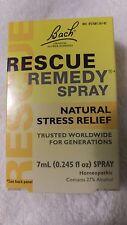 Bach Flower Remedies Rescue Remedy Spray - NATURAL STRESS RELIEF 7mL/0.245 fl oz