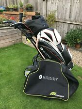 Motocaddy M3 Pro Electric Golf Trolley Lithium Battery, Case, Cart Bag & Extras
