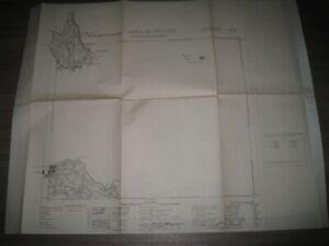 ISOLA DI LEVANZO foglio n° 256 Carta d'Italia  Istituto Geografico Militare