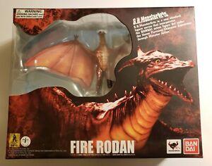 2012 S.H.MonsterArts Bandai Godzilla Fire Rodan Beam Effect & Extra MG Head! SH