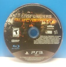 Transformers: Fall of Cybertron (Sony PlayStation 3, 2012)(DISC ONLY) #12821