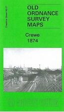 Map Of Crewe 1874