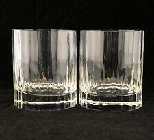 2 LUIGI BORMIOLI Bach Double Old Fashioned Glasses