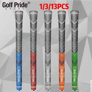 1/3/13Pcs Golf Pride MCC Plus 4 Grips Decade Blue Multi Compound Cord
