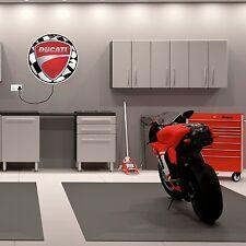 Caja de luz con el logotipo de Ducati Regalo de Cumpleaños Mancave garaje moto 999 998 996